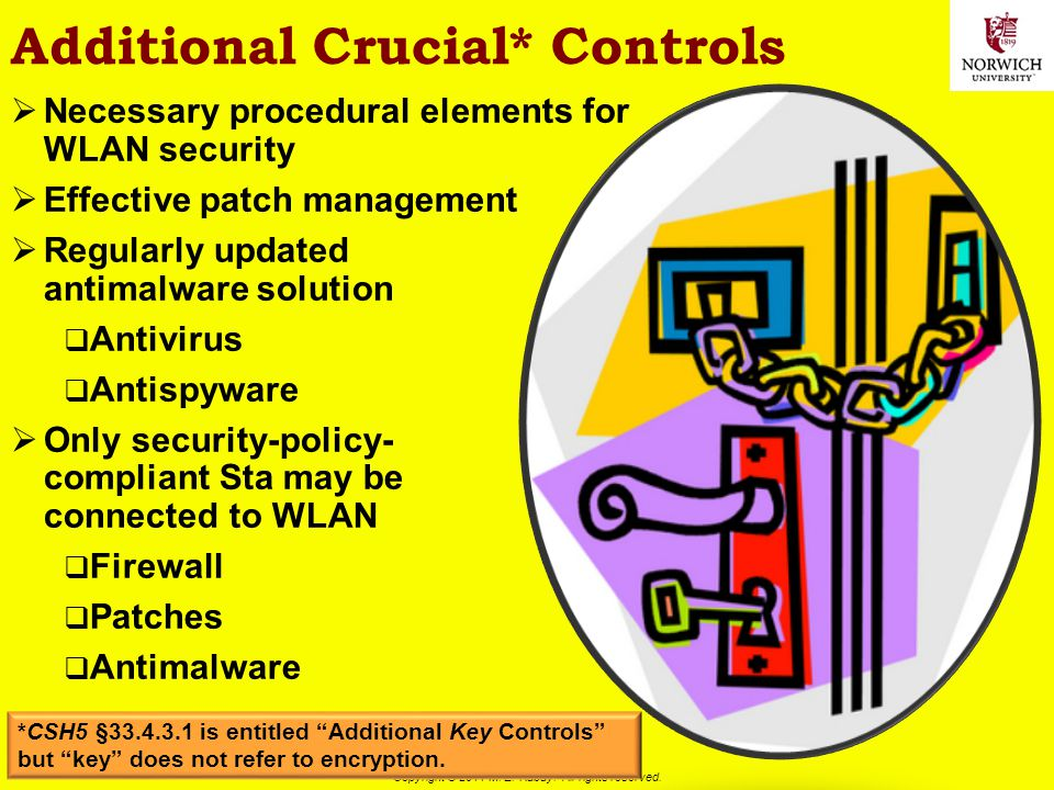 Additional Crucial* Controls