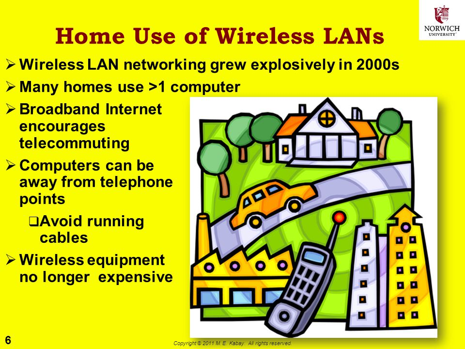 Home Use of Wireless LANs
