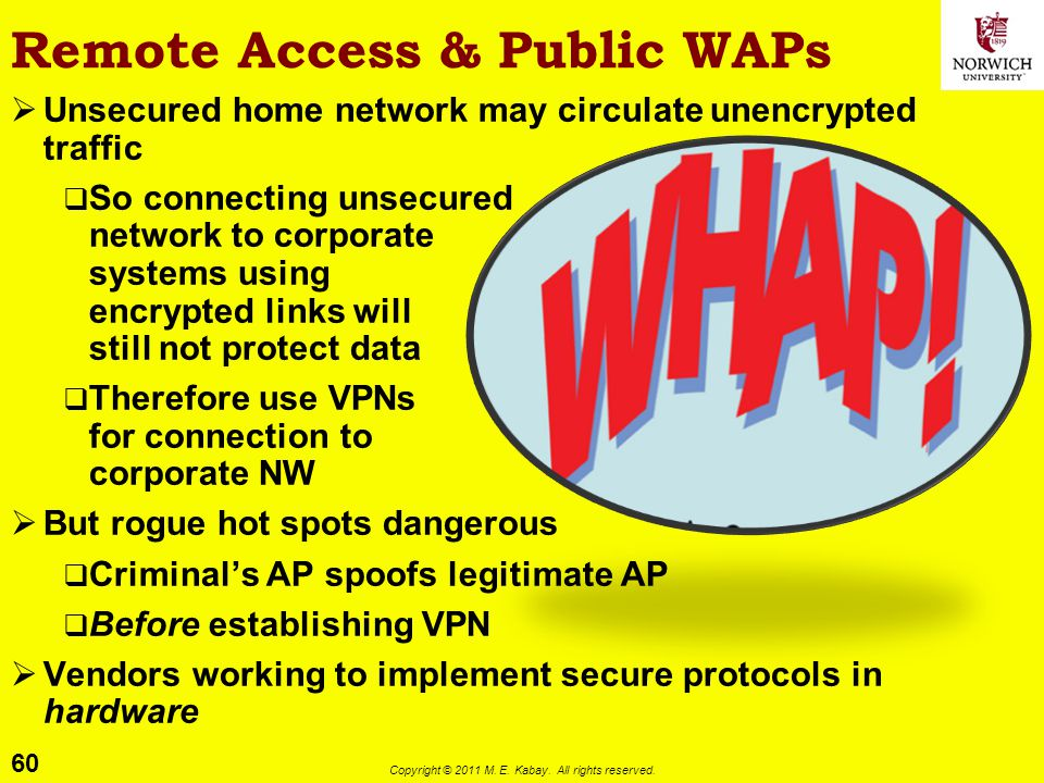Remote Access & Public WAPs
