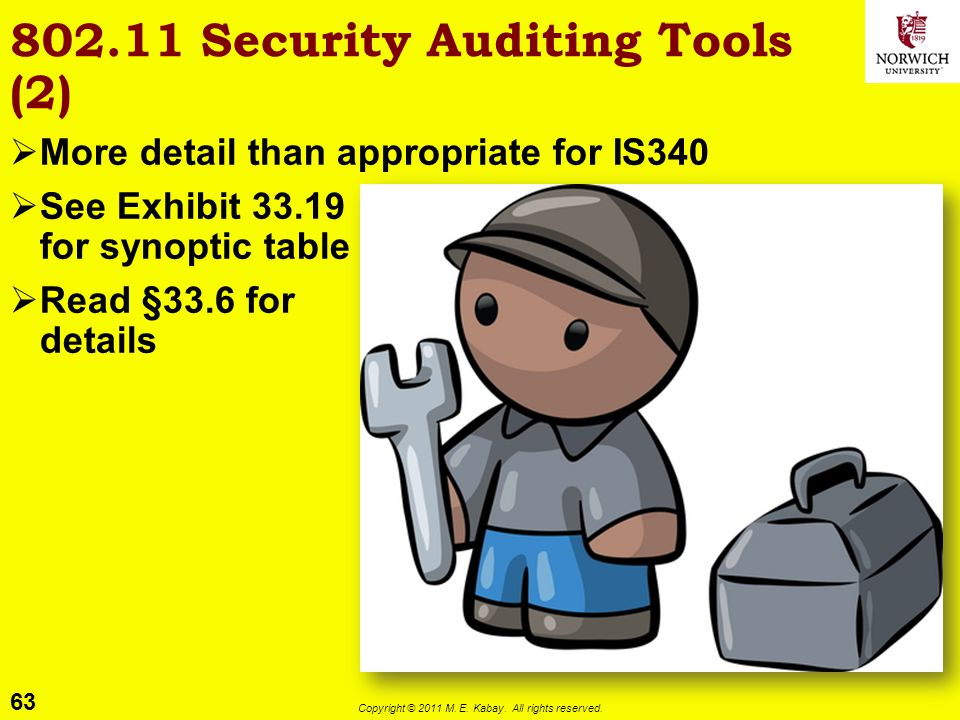 802.11 Security Auditing Tools (2)