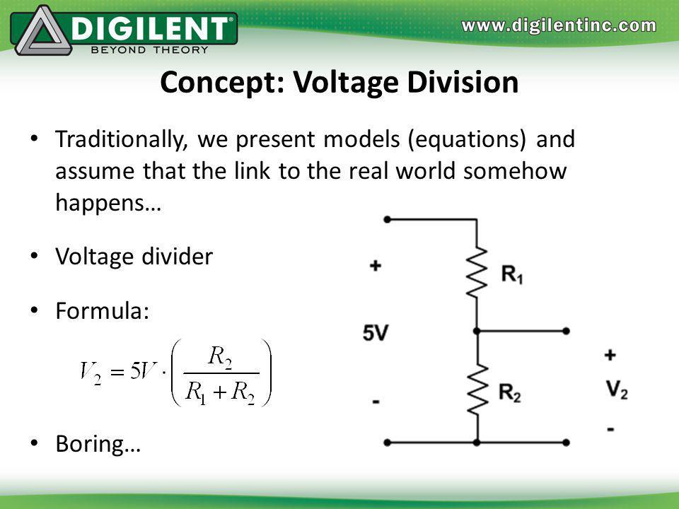 Concept: Voltage Division