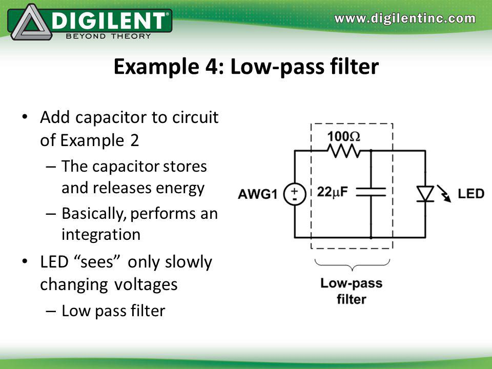 Example 4: Low-pass filter