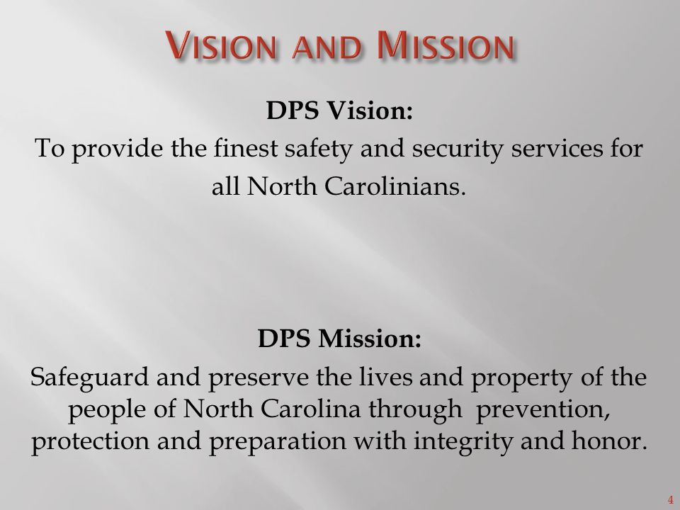 NC Department of Public Safety