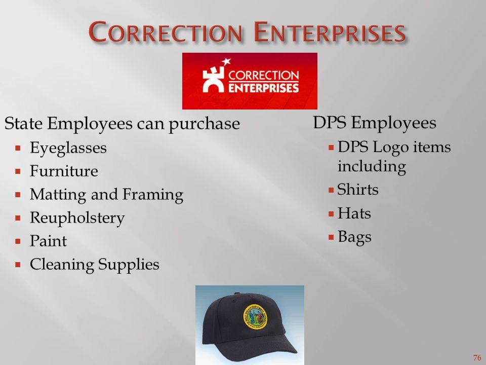 Correction Enterprises