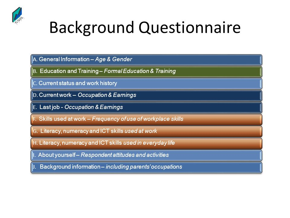 Background Questionnaire