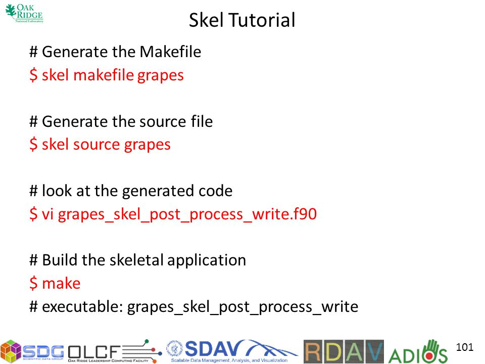 Skel Tutorial