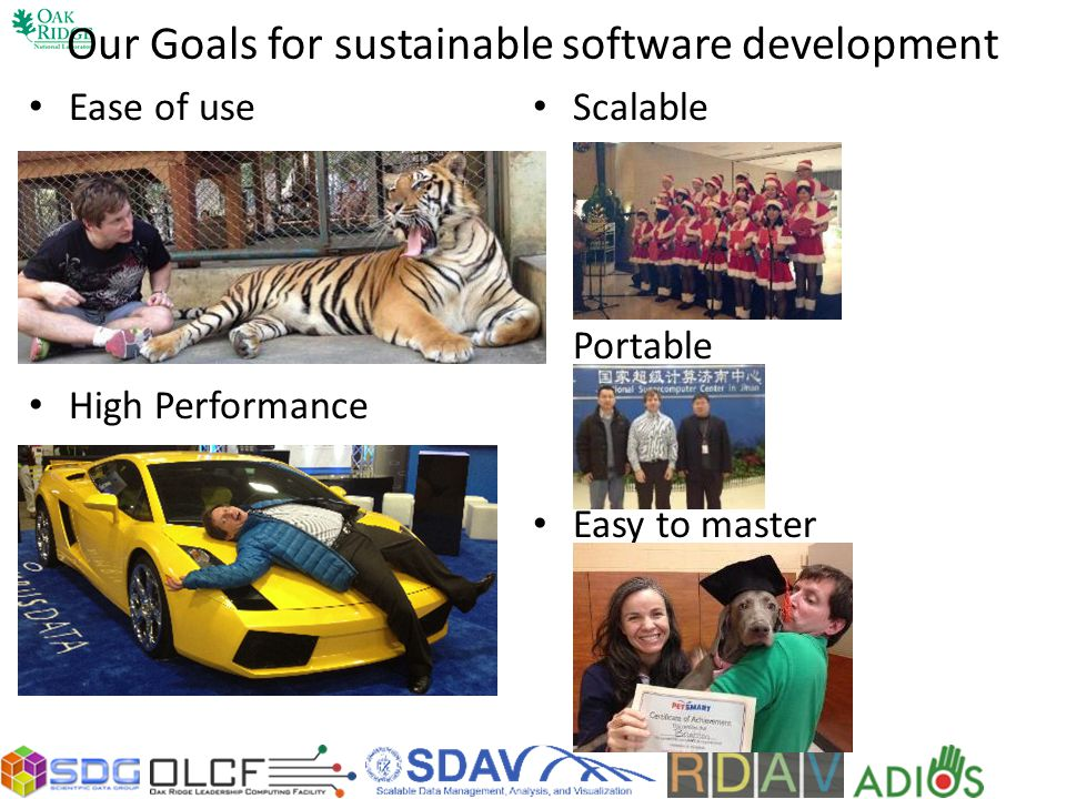Our Goals for sustainable software development