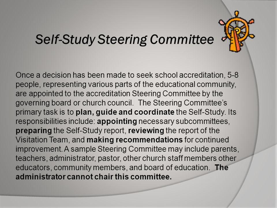 Self-Study Steering Committee