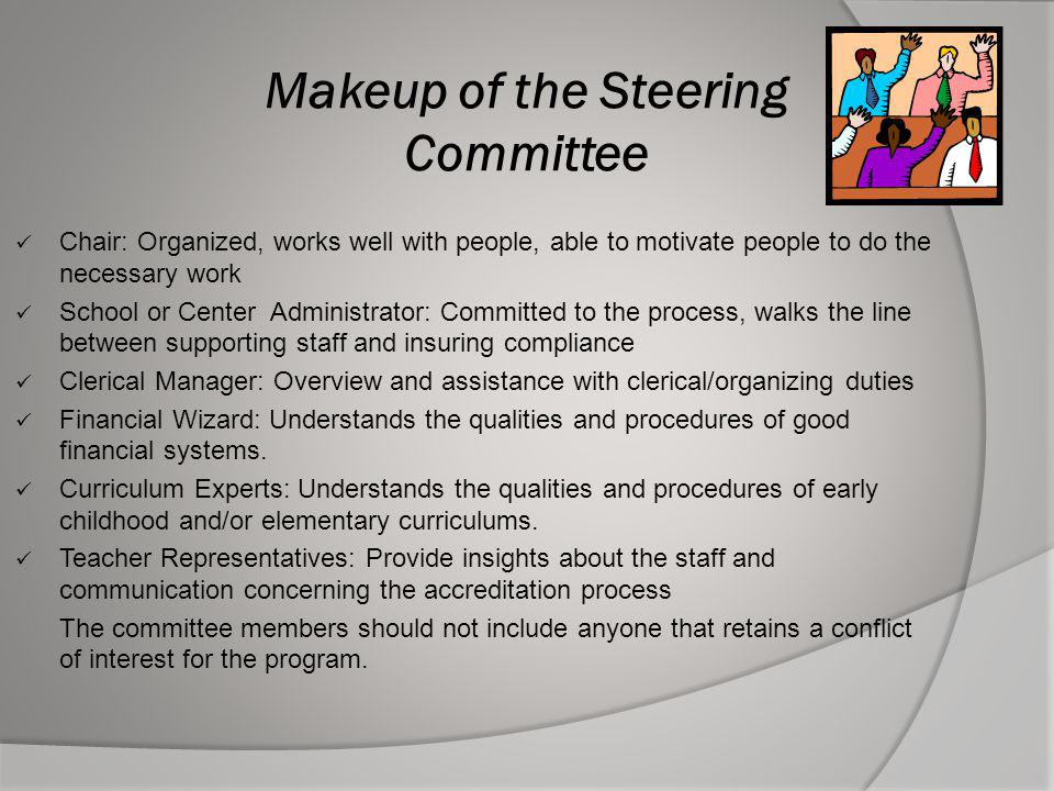 Makeup of the Steering Committee