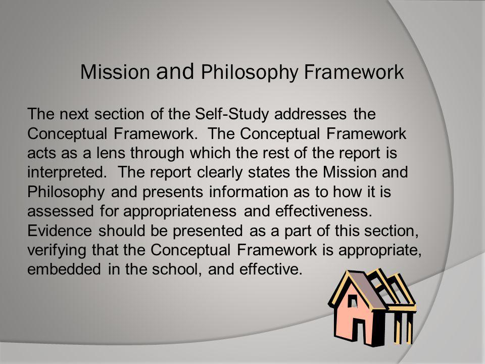 Mission and Philosophy Framework
