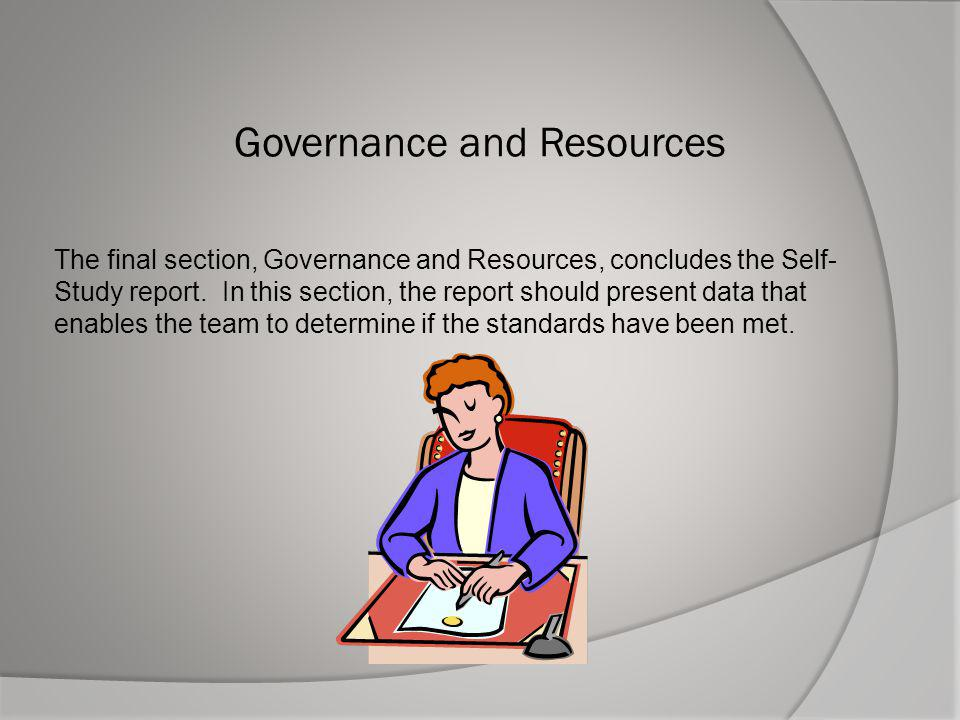 Governance and Resources