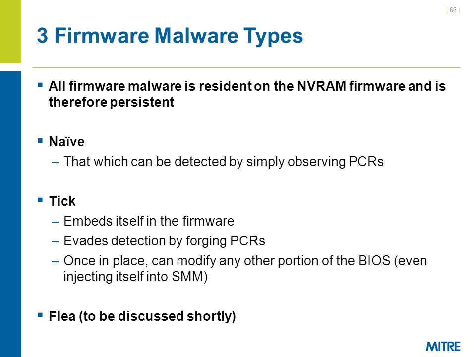 3 Firmware Malware Types