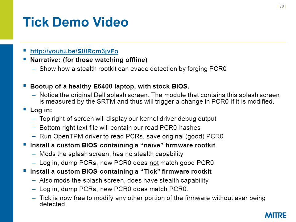Tick Demo Video http://youtu.be/S0lRcm3jvFo