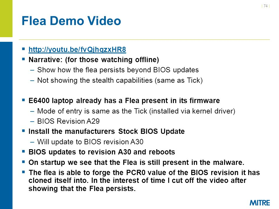 Flea Demo Video http://youtu.be/fvQjhqzxHR8