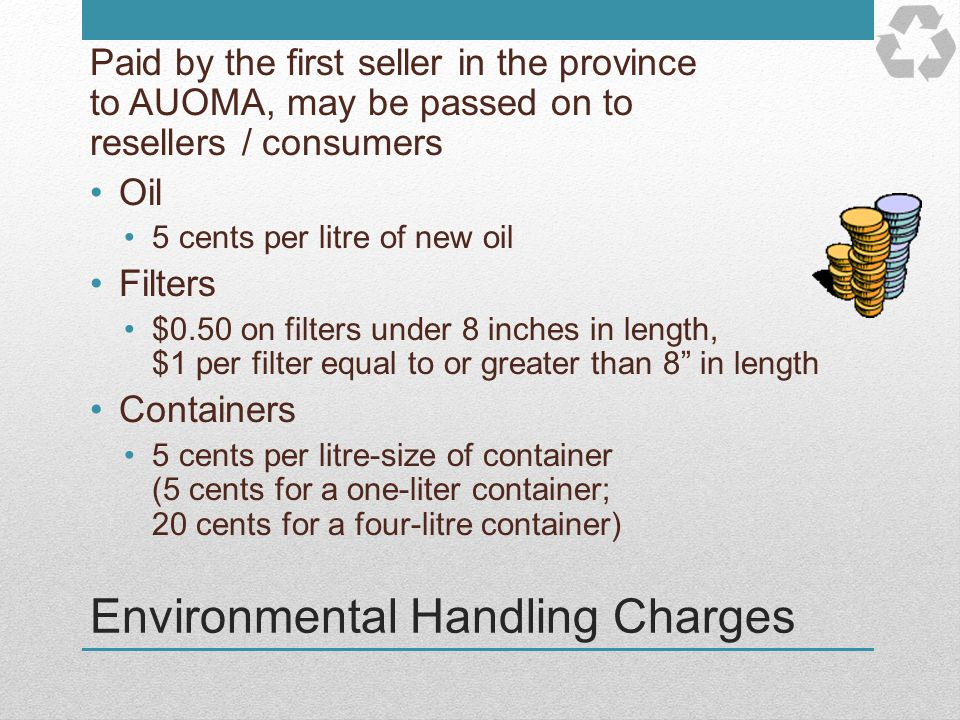 Environmental Handling Charges