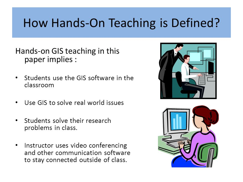 How Hands-On Teaching is Defined