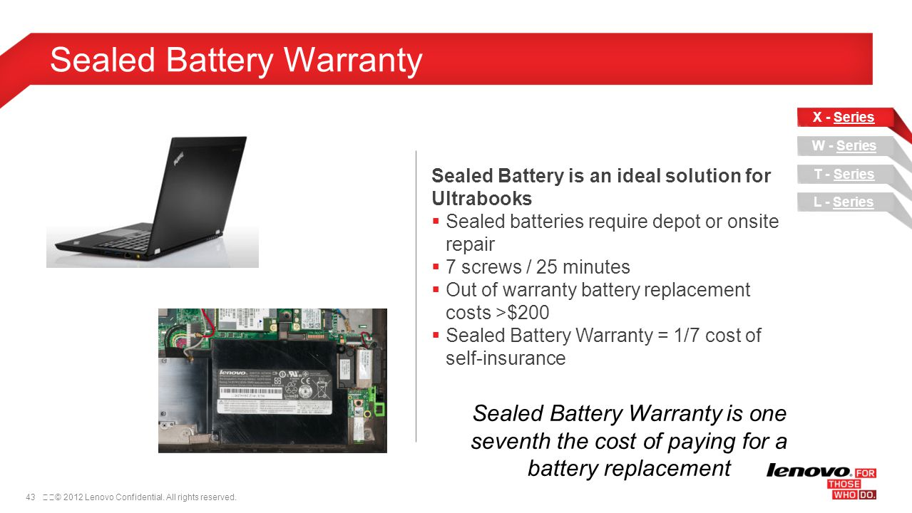 Sealed Battery Warranty