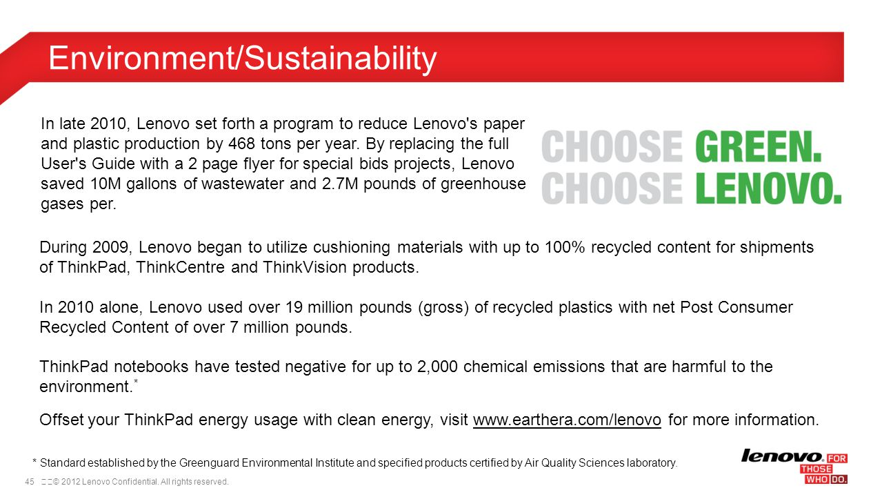Environment/Sustainability