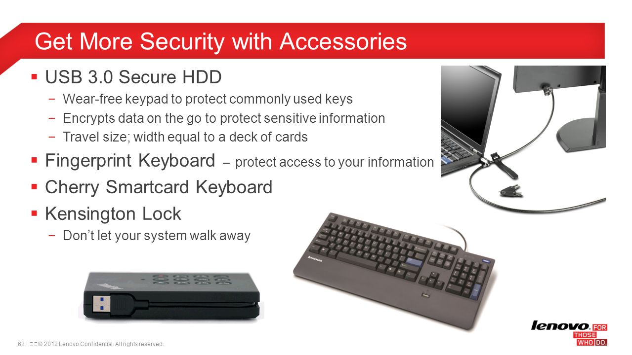 Get More Security with Accessories