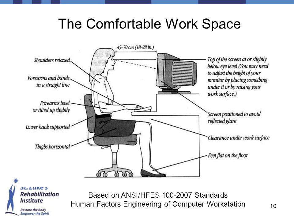 The Comfortable Work Space