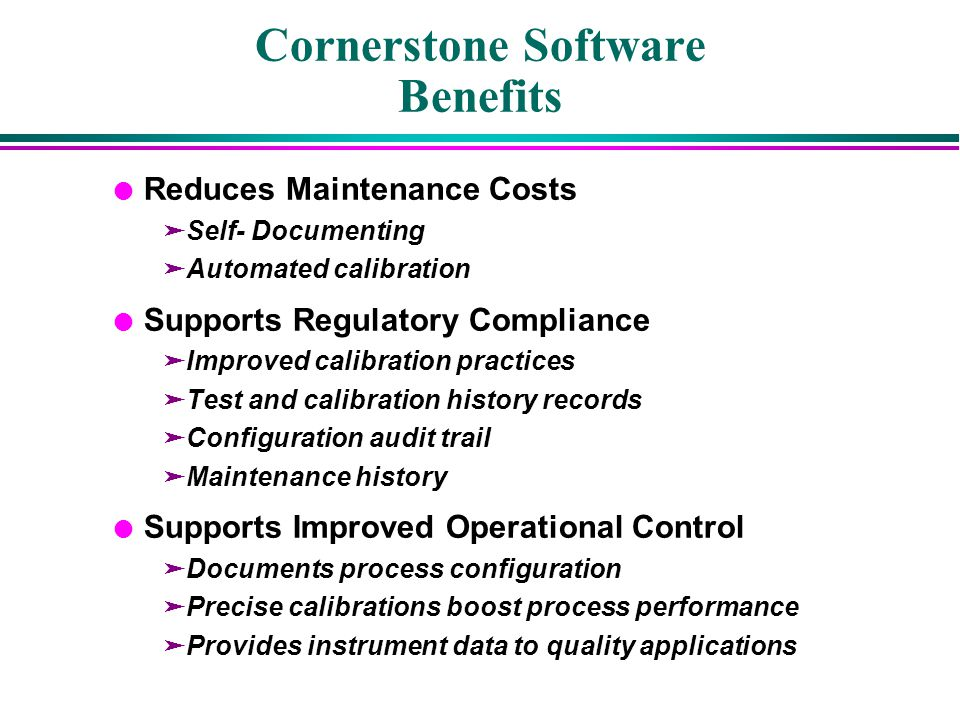 Cornerstone Software Benefits