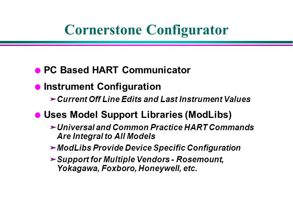 Cornerstone Configurator