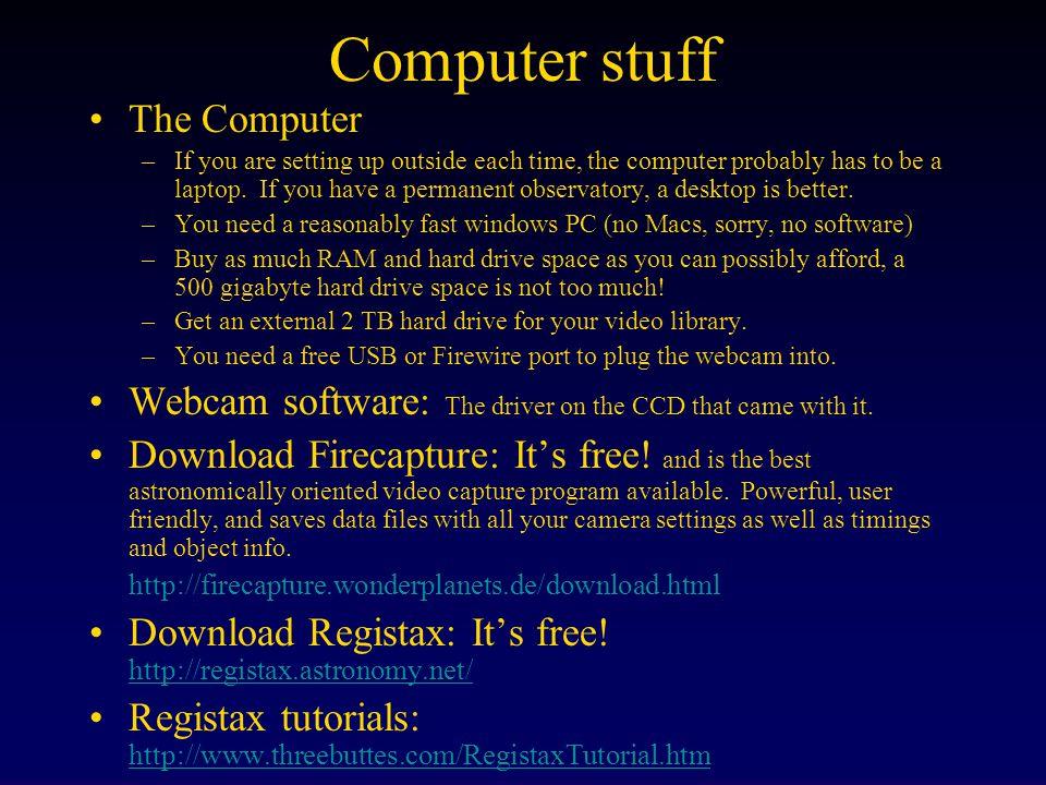 Computer stuff The Computer