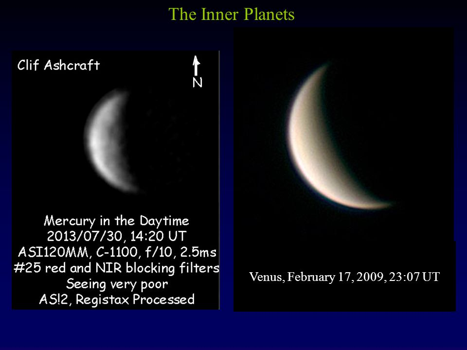 The Inner Planets Venus, February 17, 2009, 23:07 UT