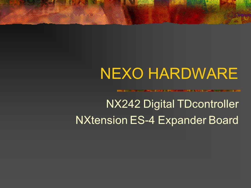 NX242 Digital TDcontroller NXtension ES-4 Expander Board