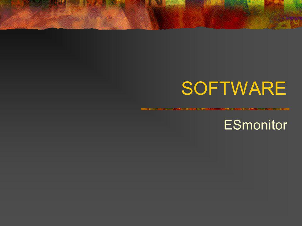 SOFTWARE ESmonitor