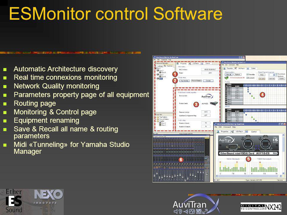 ESMonitor control Software