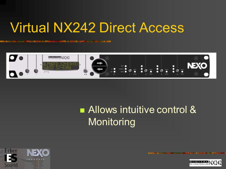 Virtual NX242 Direct Access
