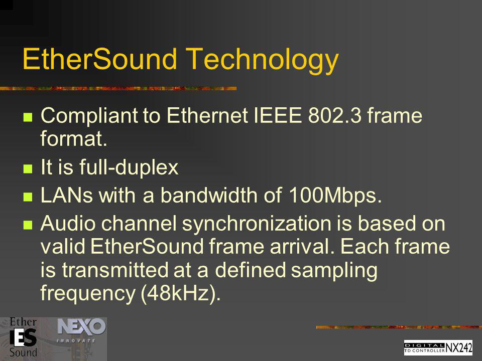 EtherSound Technology