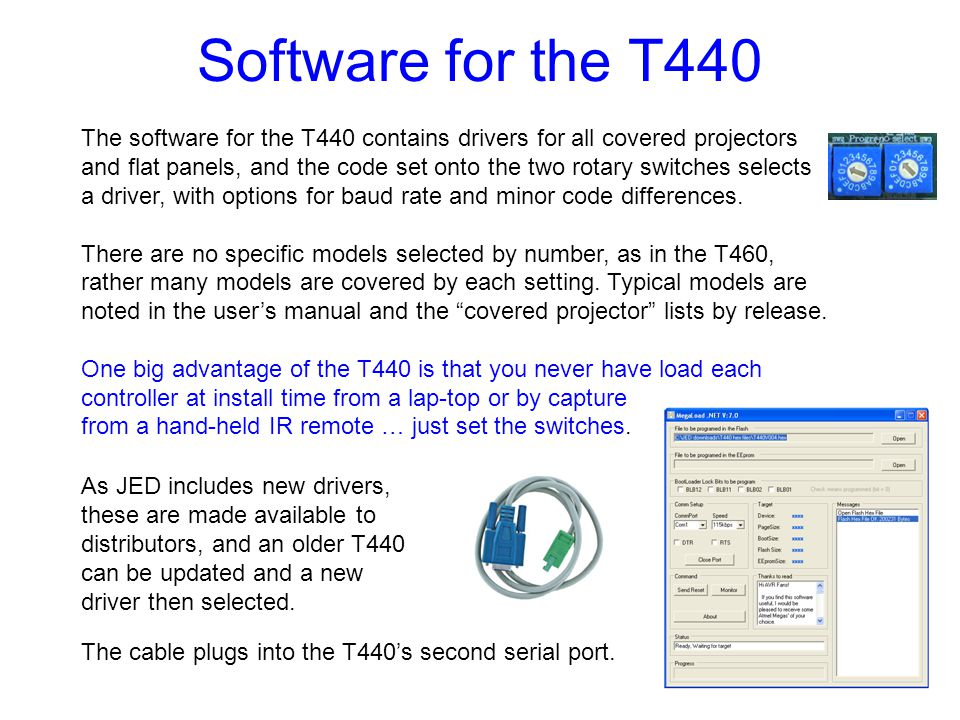 Software for the T440