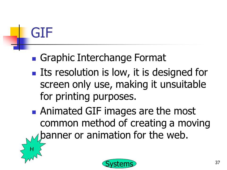 GIF Graphic Interchange Format