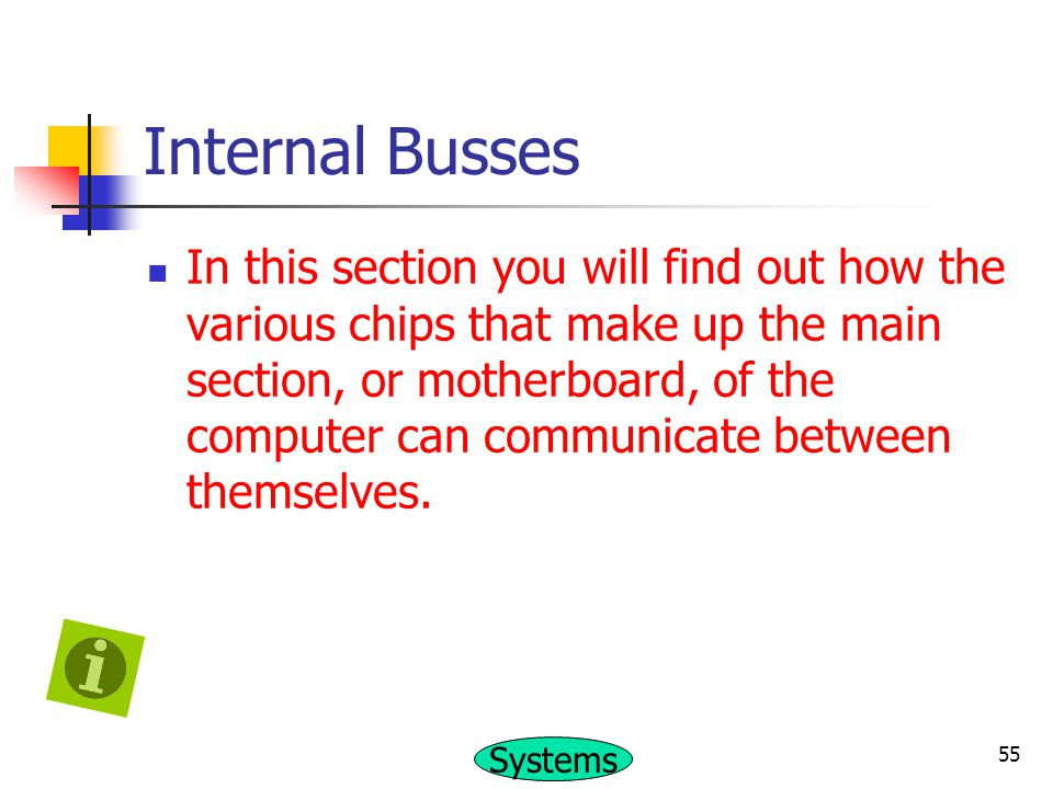 Internal Busses