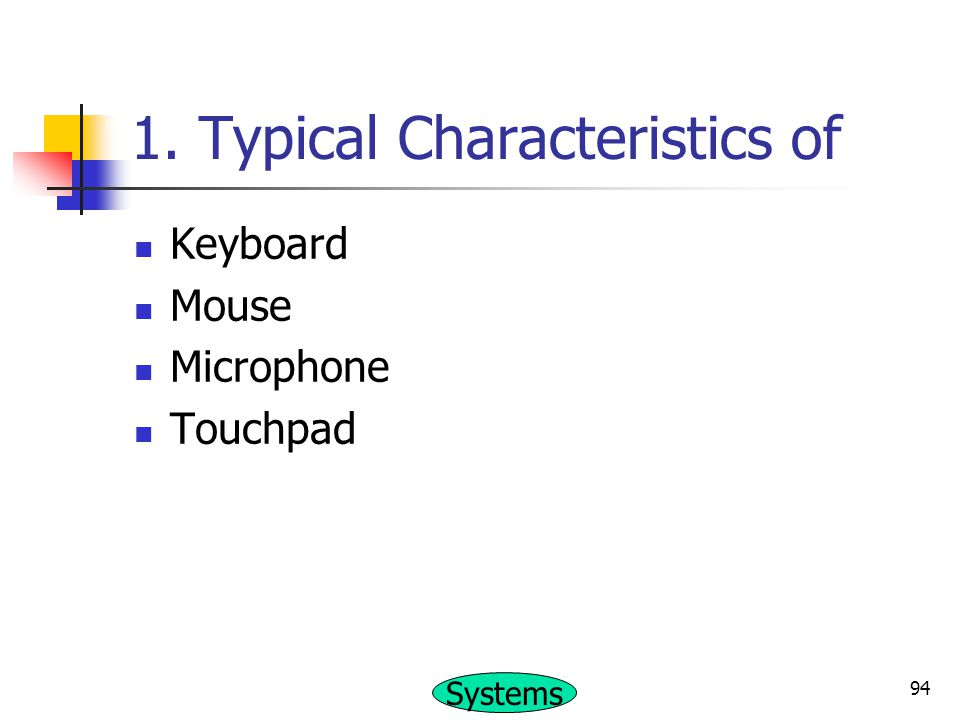 1. Typical Characteristics of