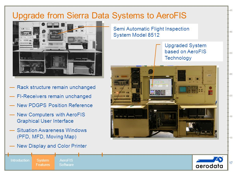 Upgrade from Sierra Data Systems to AeroFIS