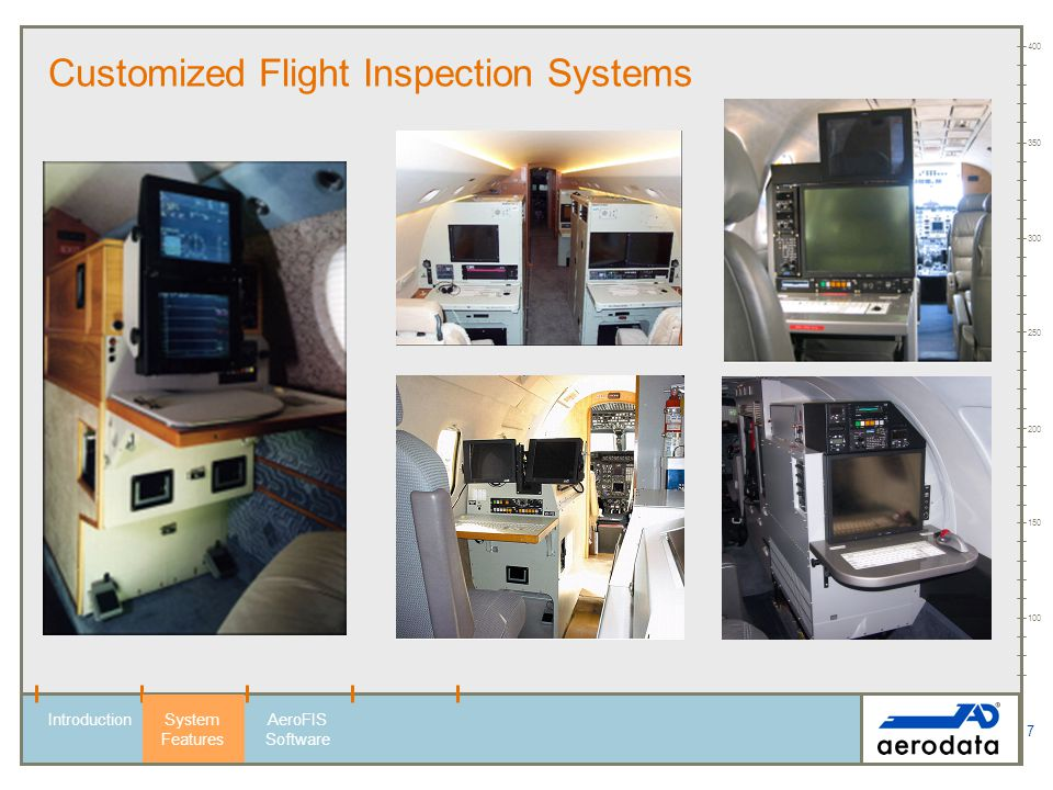 Customized Flight Inspection Systems