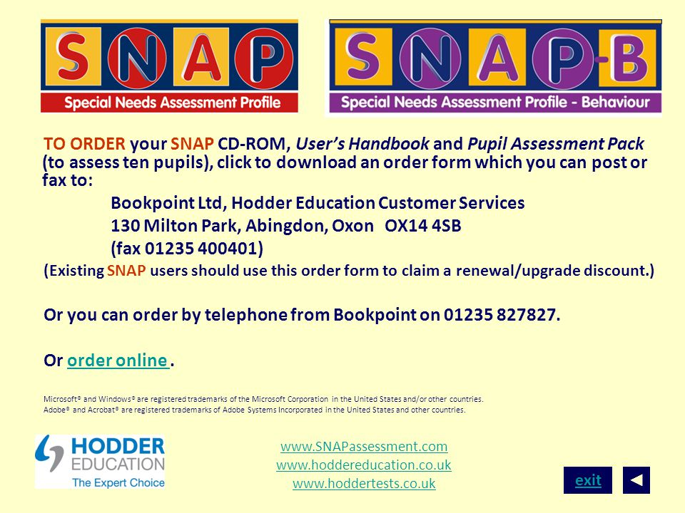 Bookpoint Ltd, Hodder Education Customer Services