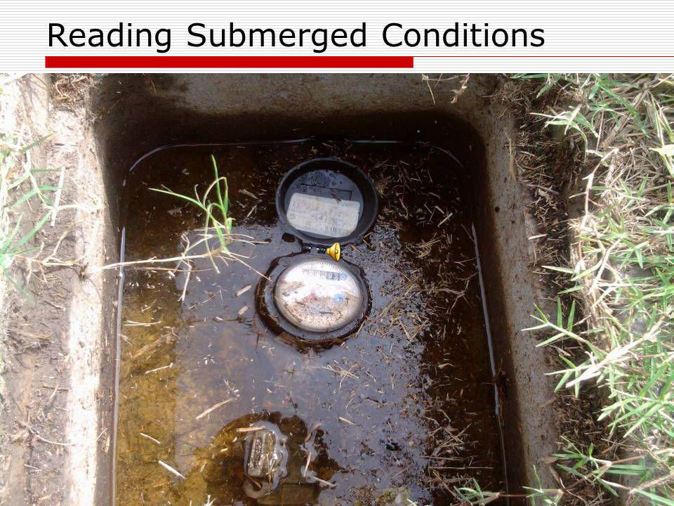 Reading Submerged Conditions