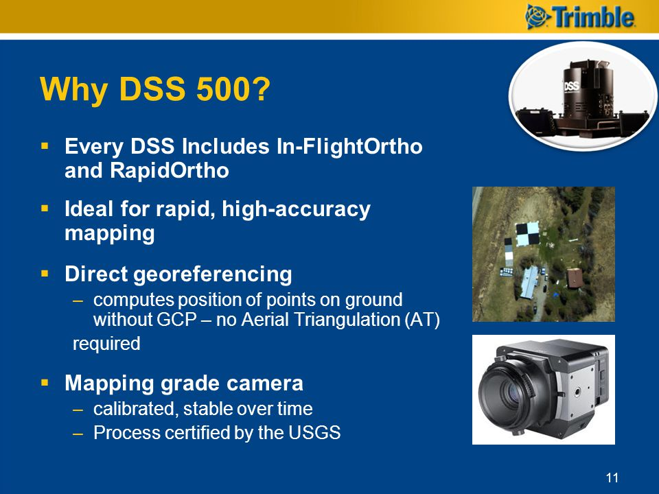 Why DSS 500 Every DSS Includes In-FlightOrtho and RapidOrtho