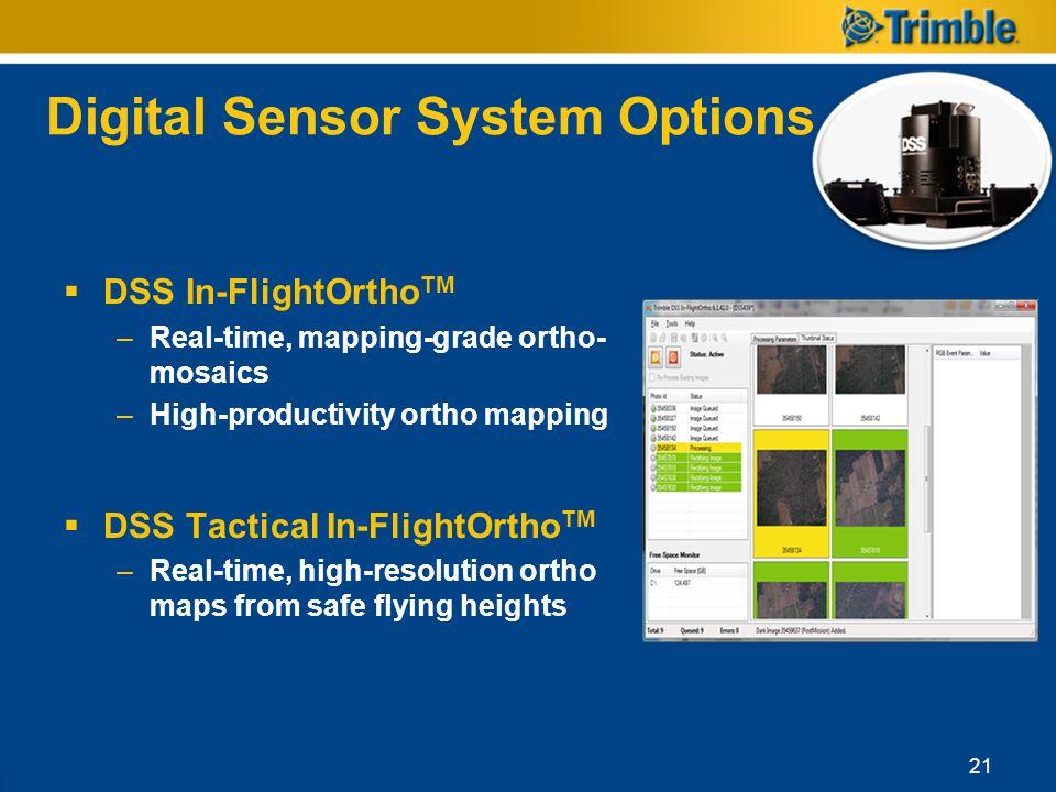 Digital Sensor System Options