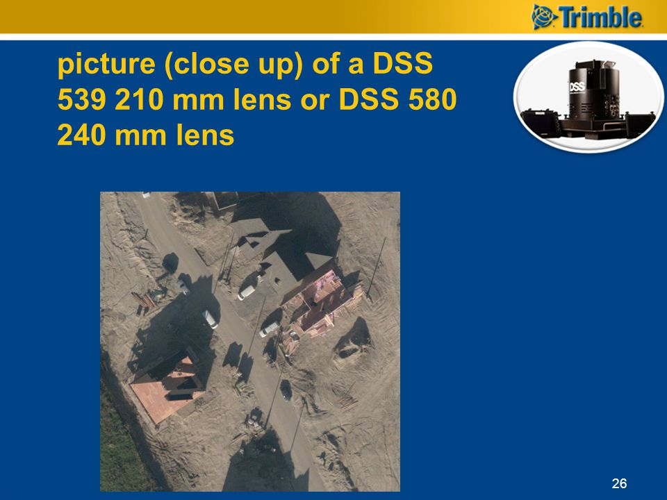 picture (close up) of a DSS 539 210 mm lens or DSS 580 240 mm lens