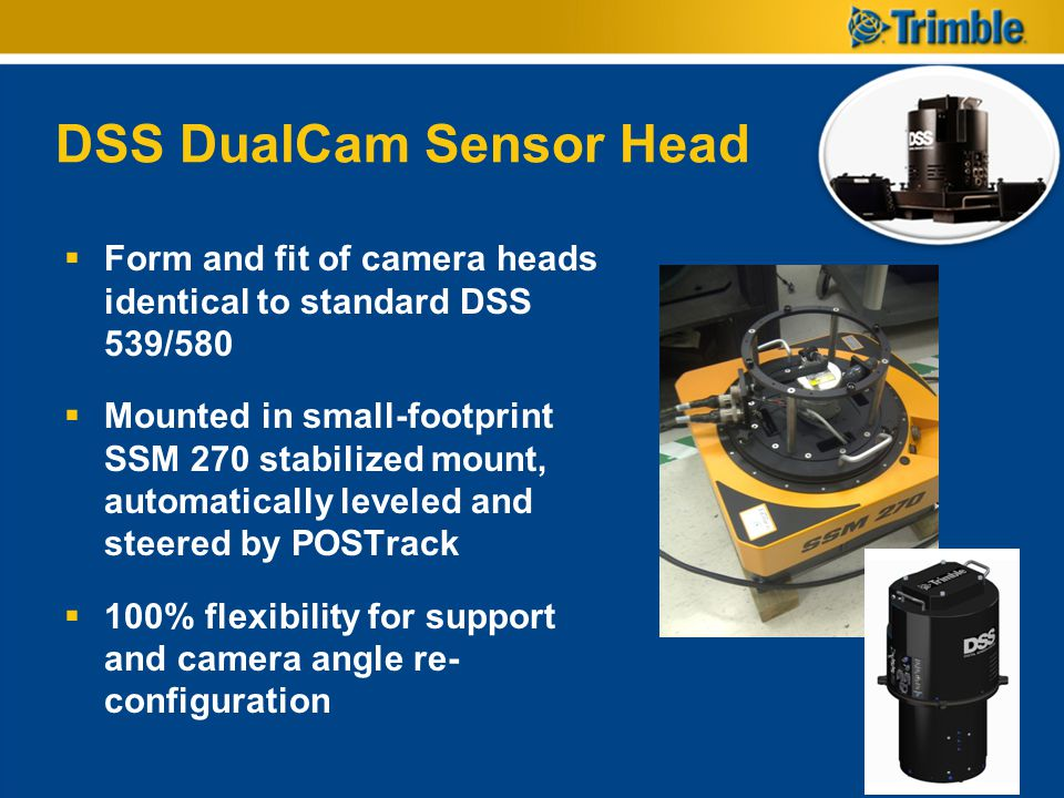 DSS DualCam Sensor Head