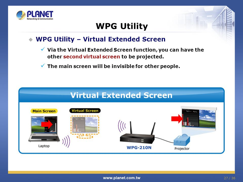 WPG Utility WPG Utility – Virtual Extended Screen