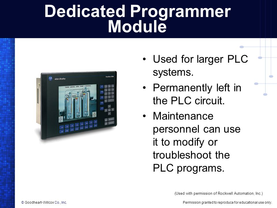 Dedicated Programmer Module