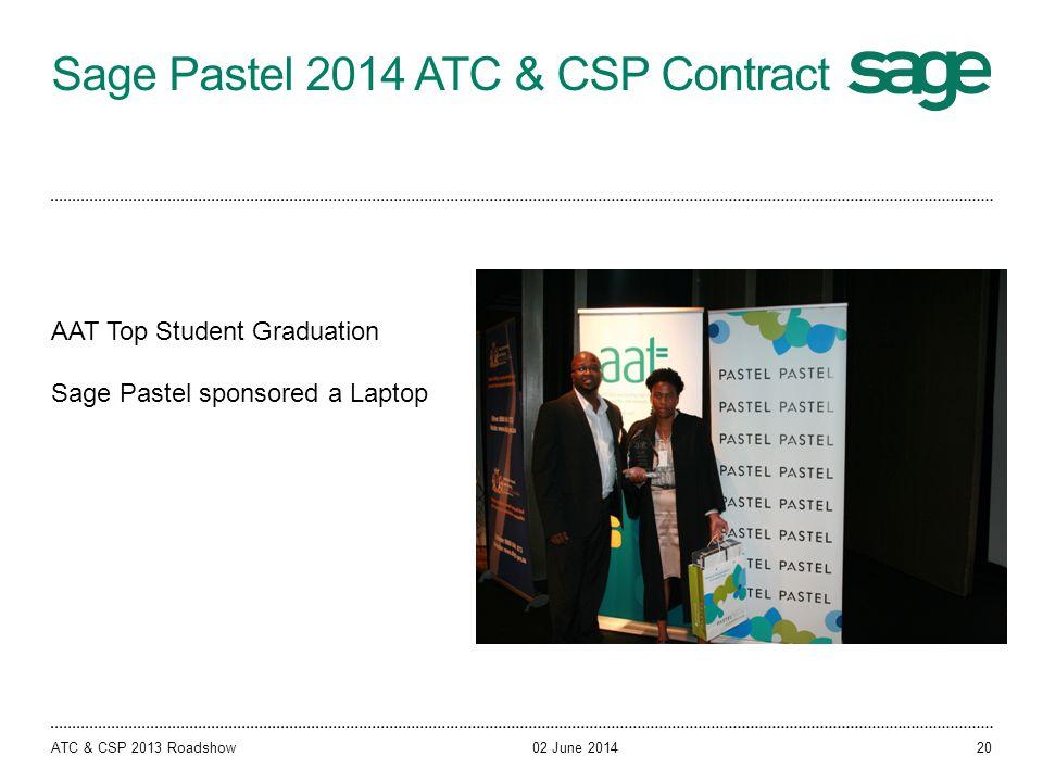 Sage Pastel 2014 ATC & CSP Contract
