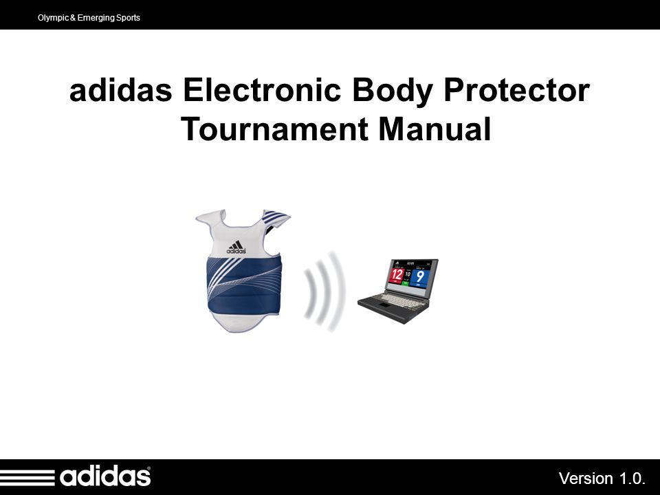 adidas Electronic Body Protector Tournament Manual