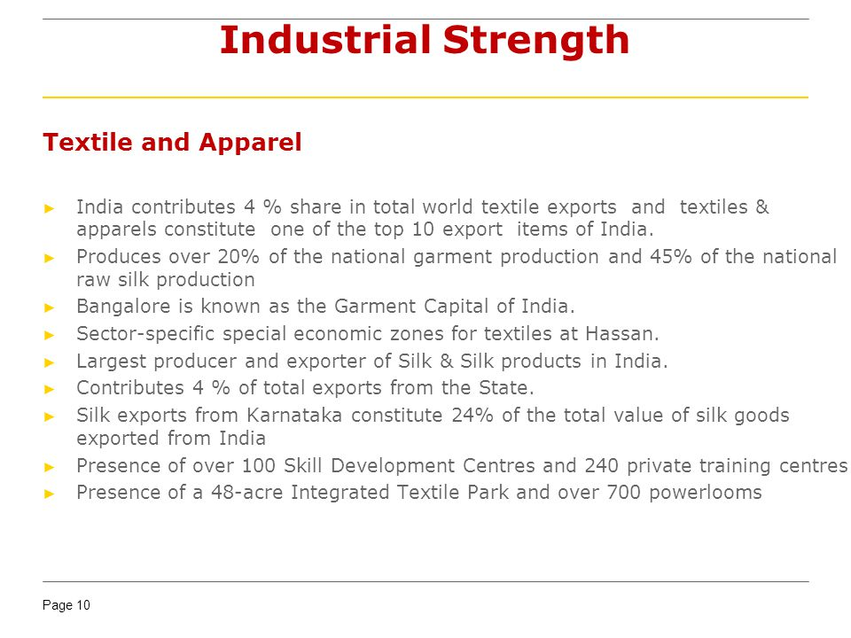 Industrial Strength Textile and Apparel